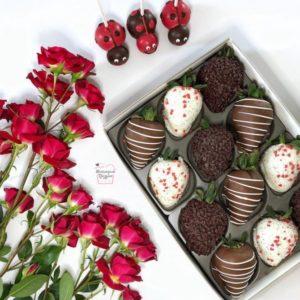 клубника-в-шоколаде